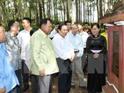 Activity highlights footprints of late Lao President in Vietnam
