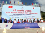 Work starts on expanding Da Nhim hydropower plant in Ninh Thuan