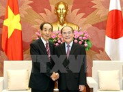 NA Chairman meets Japanese legislature leader