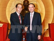 Politburo member welcomes Japanese Upper House leader