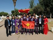 Vietnamese juniors pocket medals at int'l science Olympiad