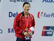 Vietnamese swimmer honoured by US magazine