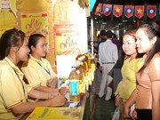 Vietnam-Lao Trade Fair 2015 opens in Laos