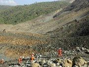 Mining accident in Myanmar