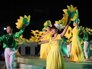 Gala night closes Da Lat Flower Festival