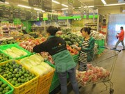 Localities stockpile basic necessities ahead of Lunar New Year