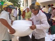 Rice aid to reach the poor during Tet
