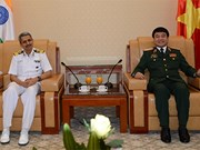 Vietnam, India targets stronger defence ties