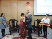 Indian diplomat honoured with insignia