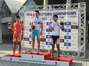 Vietnamese cyclist wins silver medal at Asian Junior Championships