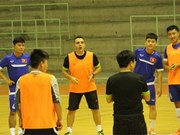 Malaysian Futsal squad arrive for friendly matches with Vietnam