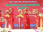 Dong Nai province holds Tet gathering for OV