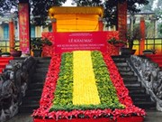 Spring festival opens at Thang Long Citadel