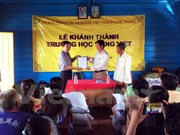 School for OV children opens in Cambodian province