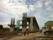Mekong Delta: Work on major bridges halfway done