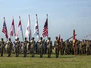Thai-US hosted multinational military exercise launched