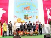 Vietnamese music show in German trade fair