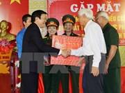 President praises museum of former revolutionary prisoners
