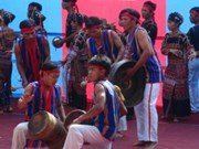 Drum-gong performance recognised as nat'l intangible cultural heritage