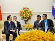 Party chief's special envoy welcomed in Cambodia