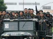 Philippine army kills 42 terrorists in south