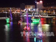 Clipper sailing boats show in Da Nang city