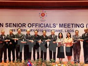 ASEAN senior officials gather ahead of Foreign Ministers' Retreat