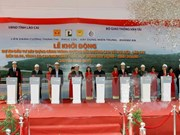 Work begins to link Noi Bai-Lao Cai expressway with Sa Pa