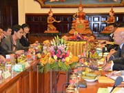 Vietnamese, Cambodian justice sectors sign 2016 cooperation deal