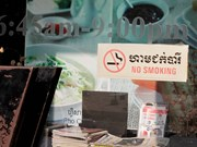 Cambodia bans smoking in public places