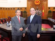 Deputy PM hosts Lao Minister of Science and Technology