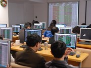 VN stocks gain ground on diary boost