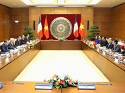 Vietnamese, French legislatures agree increased liaisons