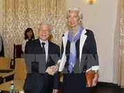 Party General Secretary welcomes IMF director
