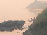Mekong River level in northeast Thailand rises