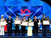 Vietnam's 2015 top 10 outstanding youths unveiled