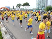 Runners prepare for annual Da Nang International Marathon