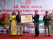 Thuong temple in Tuyen Quang honoured as national relic site