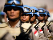 Indonesia send soldiers to join UN's peace keeping mission in Sudan