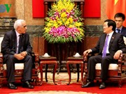 President welcomes First President of Algerian Supreme Court