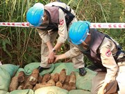 Vietnam works to address wartime bombs' consequences