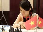 Vietnam women's team beat Iran to lead Asian Chess Cup