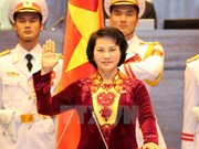 Nguyen Thi Kim Ngan gives oath speech