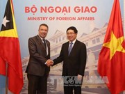 Vietnam, Timor Leste seek increased cooperation