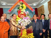 HCM City congratulates Lao, Cambodia on traditional New Year