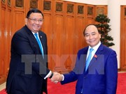 Prime Minister hosts Filipino Secretary of Foreign Affairs