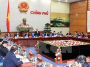 Prime Minister chairs first meeting of newly-elected government