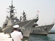 Japanese maritime vessels visit Vietnam
