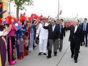 Lao Party chief sends thank-you letter to Vietnamese leaders