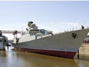 Vietnam launches Russian-made frigate